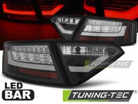 Zadné LED BAR svetlá Audi A5 07-11 Coupe Black