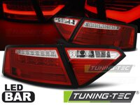 Zadné LED BAR svetlá Audi A5 07-11 Coupe Red White