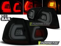 Zadné diodové svetlá VW Golf 5 Hatchback Black Smoke Led Bar