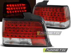 Zadné svetlá BMW E36 SEDAN 90-98 RED WHITE LED DIODY