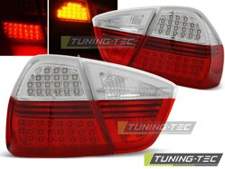 Zadné diodové svetlá BMW E90 Sedan 05-08 Red White Led