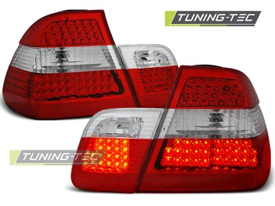 Zadné diodové svetlá BMW E46 Sedan 01-05 Red White Led Diody