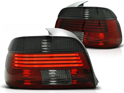 Zadné diodové svetlá BMW E39 Sedan 00-03 Red Smoke Led