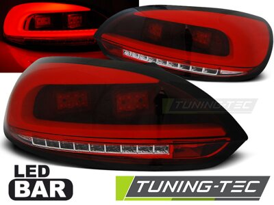 Zadné LED BAR svetlá VW Scirocco Red-White