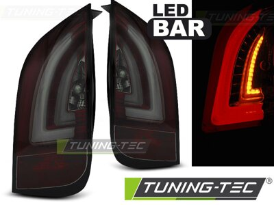 Zadné svetlá Škoda Citigo/VW UP! Red Smoke LED BAR