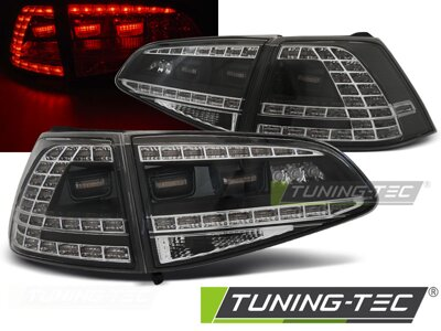 Zadné svetlá VW Golf 7 Black Led GTI Look