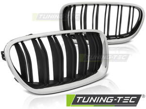 Maska BMW F10/F11 10-16 Chrome M5 Look Chrome Black