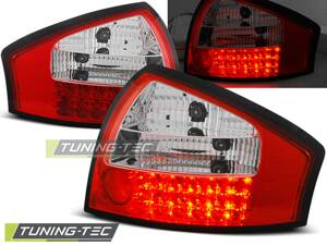 Zadné svetlá AUDI A6 4B 97-04 CLEAR RED WHITE LED