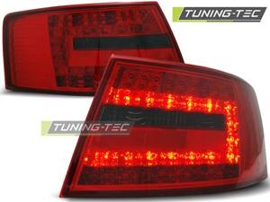 Zadné diodové svetlá AUDI A6 C6 04-08 Sedan Red Smoke Led 6-PIN