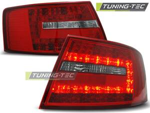 Zadné diodové svetlá Audi A6 C6 Sedan 04-08 Red White Led 7-PIN