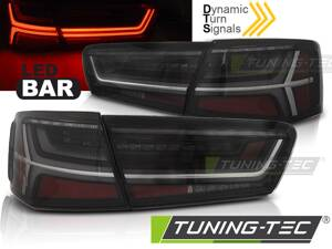 Zadné svetlá Audi A6 C7 11-14 Sedan Smoke Led Bar SEQ