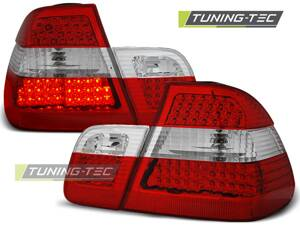 Zadné diodové svetlá BMW E46 Sedan 98-01 Red White Led