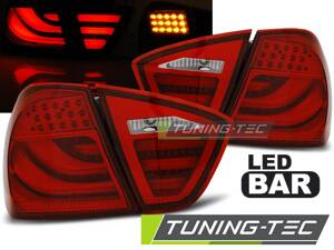 Zadné diodové svetlá BMW E90 09-11 Sedan Red Led Bar