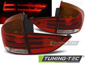 Zadné svetlá BMW X1 E84 09-12 Red White LED