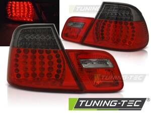 Zadné svetlá BMW E46 03-06 Coupe Red Smoke Led