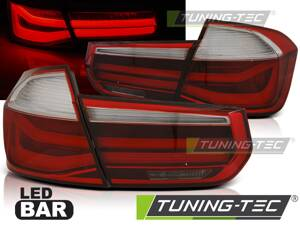 Zadné svetlá BMW F30 11-15 Red Smoke LED Bar