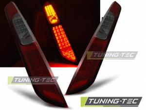 Zadné diodové svetlá Ford Focus MK2 Hatchback 04-08 Red Smoke Led