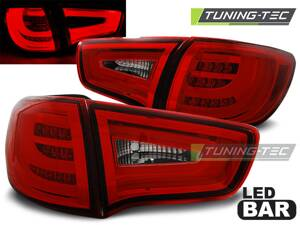 Zadné svetlá Kia Sportage III 10-14 Red White Led Bar