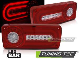 Zadné svetlá Mercedes G W463 90-12 Red White Led