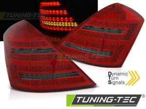 Zadné svetlá Mercedes W221 S 05-09 Red Smoke Dynamic LED