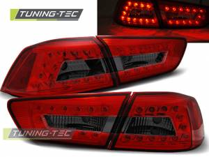 Zadné diodové svetlá Mitsubishi Lancer 8 Sedan 08-11 Red Smoke Led