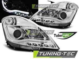Predné svetlá Suzuki Swift IV 2010- Tube Light Chrome