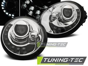 Predné svetlá VW New Beetle 98-05 Led Chrome