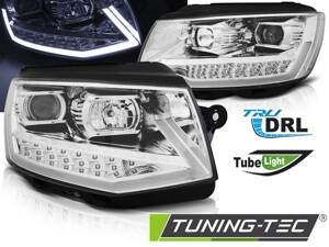 Predné svetlá VW T6 Chrome Tube Light